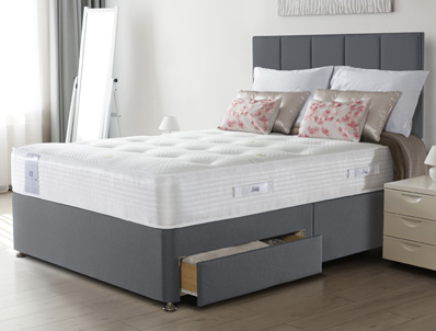 Sealy ActivSleep Memory Pocket 2400 Divan Bed