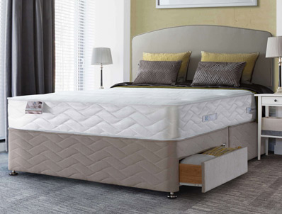 Sealy Cremona 1300 Pocket & Memory Divan Bed