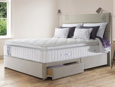 Sealy Juliana 2100 Pocket & Latex divan Bed
