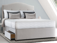 Sealy New Pearl Memory Divan Bed