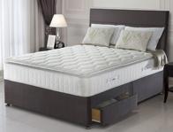 Sealy Nostromo 1400 Pocket & Latex Divan Bed New 2016