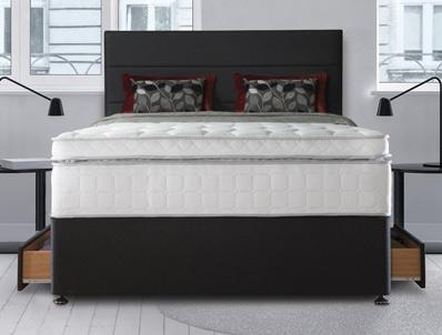 Sealy Palatine 2500 Pocket & Latex Divan Bed