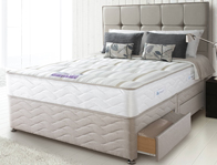 Sealy Pearl Firm Divan Bed