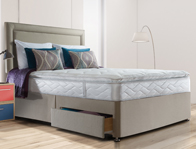 Sealy Pearl Luxury Pillow Top Spring Divan Bed