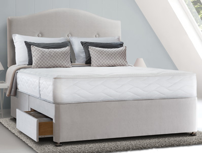 Sealy Pearl Memory Spring Divan Bed