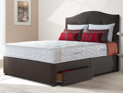 Sealy pearl ortho divan bed buy online at bestpricebeds for Best divan beds uk