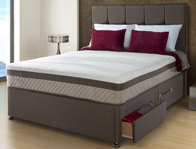 Sealy Profile Deluxe 1400 Divan Bed
