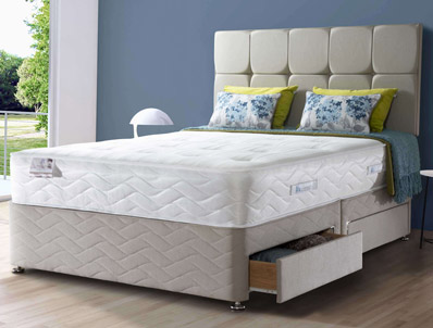 Sealy Subura 1300 Pocket & Latex Divan Bed