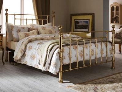 Serene Benjamin Brass Bed Frame Discontinued