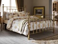 Serene Benjamin Brass Bed Frame