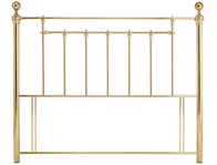 Serene Benjamin Shiny Brass or Nickel Headboard Discontinued
