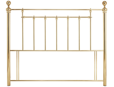 Serene Benjamin Shiny Brass or Nickel Headboard