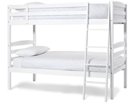 Serene Brooke Hevea Hardwood Bunk Bed Frame