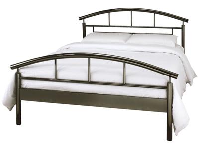 Serene Calypso Black Nickel Bed Frame Discontinued