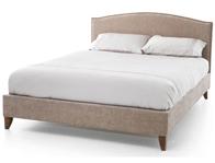 Serene Charlotte Mink Fabric Bed Frame