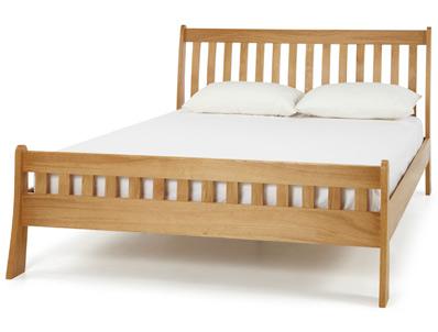 Serene Colchester Solid Oak Bed Frame