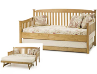 Serene Eleanor Hevea Day Bed & Optional Guest Bed