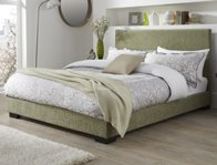 Serene Emily Low End Fabric Bed Frame