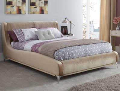 Serene Faye Fabric Bed Frame