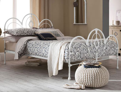 Serene Harriet Metal Bed Frame Discontinued 3 Only