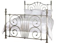 Serene Jessica Brass Metal Bed Frame Discontinued
