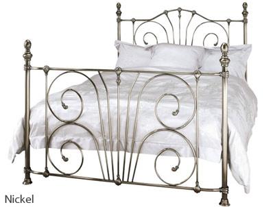 Serene Jessica Metal Bed Frame