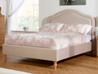 Serene Joyce Mulberry Fabric Bed Frame Discontinued