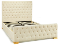 Serene Lillian Double Size Bed Frame Pearl Discontinued