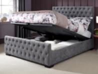 Serene Lillian  Ottoman Bed Frame