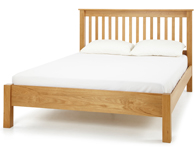 Serene Lincoln Solid Oak Bed Frame