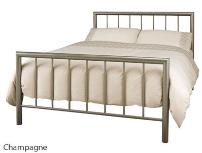 Serene Modena Modern Metal Bed Frame