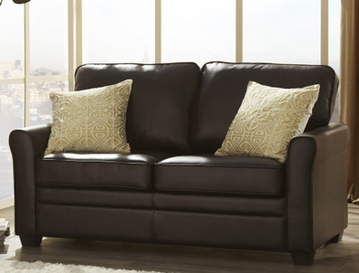 Serene Naples Faux Leather Sofa Bed