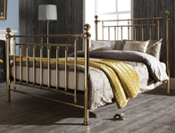 Serene New Solomon Metal Bed Frame