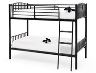 Serene Oslo Metal Twin Bunk Bed