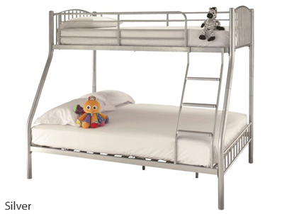 Serene Oslo Triple Metal Bunk Bed