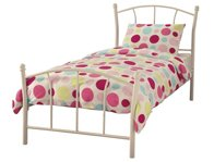 Serene Penny Childrens Metal Bed Frame