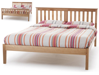 Serene Salisbury Oak Veneer Bed Frame Discontinued