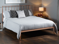 Serene Saturn Metal Bed Frame