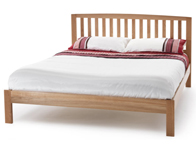 Serene Thornton Oak Veneer Bed Frame