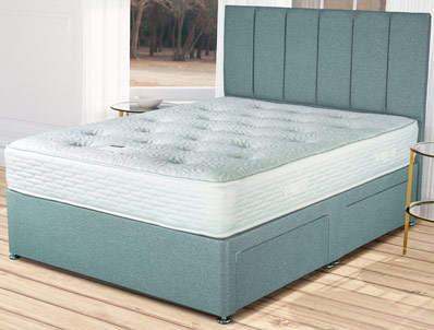 Siesta Belgravia Coil and Memory Divan Bed