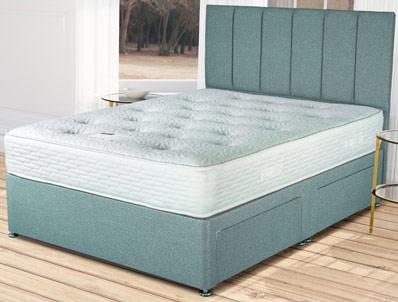 Siesta Belgravia Coil & Memory Divan Bed