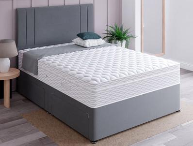 Siesta Osborne 1000 Pocket & Memory Divan Bed with Cool Cover