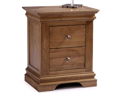 Sleepcraft Chambra 2 Drawer Bedside