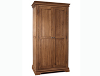 Sleepcraft Chambra Mid Oak 2 Door Wardrobe