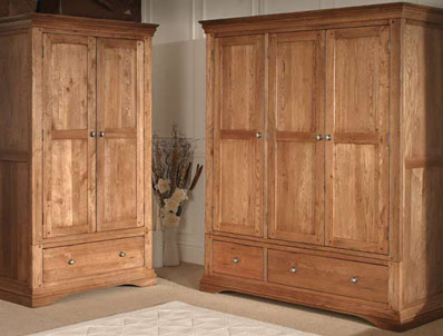 Sleepcraft Phillipe 2  Door Wardrobes