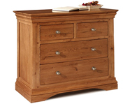 Sleepcraft Phillipe 2 Over 2 Drawer Chest