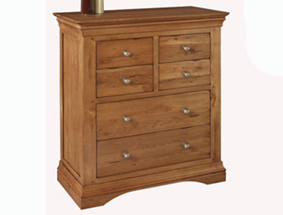 Sleepcraft Phillipe 4 Over 2 Drawer Chest