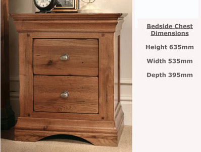 Sleepcraft Phillipe Bedside Cabinet