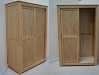 Sleepcraft Studio Sliding 2 Door Wardrobe