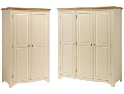 Sleepcraft Wilton 2 & 3 Door All Hanging Wardrobes
